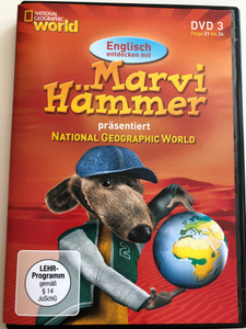 Marvi Hämmer präsentiert National Geographic World vol 3. DVD 2006 / Episodes 21 - 24 / German & English Documentary series for children (MarviHammerDVD3)