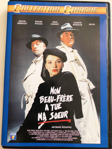 Mon beau-frère a tué ma soeur DVD 1986 My Brother-in-Law Killed My Sister / Directed by Jacques Rouffio / Starring: Michel Serrault, Michel Piccoli, Juliette Binoche (3512391707804)