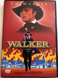 Walker DVD 1987 / Directed by Alex Cox / Starring: Ed Harris, Richard Masur, René Auberjonois, Peter Boyle, Miguel Sandoval, Marlee Matlin (3700173218468)