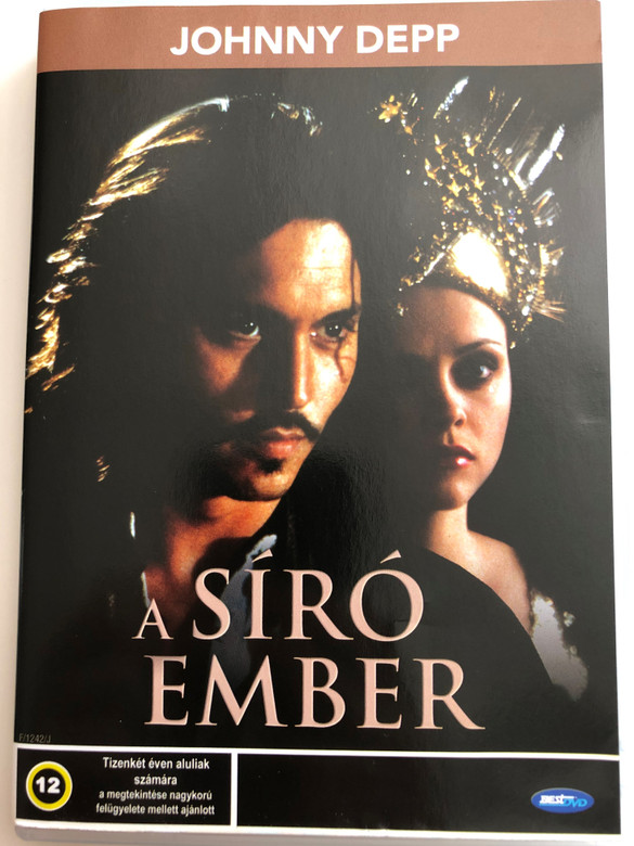 The Man Who Cried DVD 2000 A síró Ember / Directed by Sally Potter / Starring: Christina Ricci, Cate Blanchett, John Turturro, Johnny Depp, Harry Dean Stanton (5998133142733)