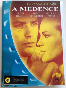La Piscine DVD 1969 A medence (The Swimming Pool) / Directed by Jacques Deray / Starring: Alain Delon, Romy Schneider, Maurice Ronet, Jane Birkin (5999545583138)