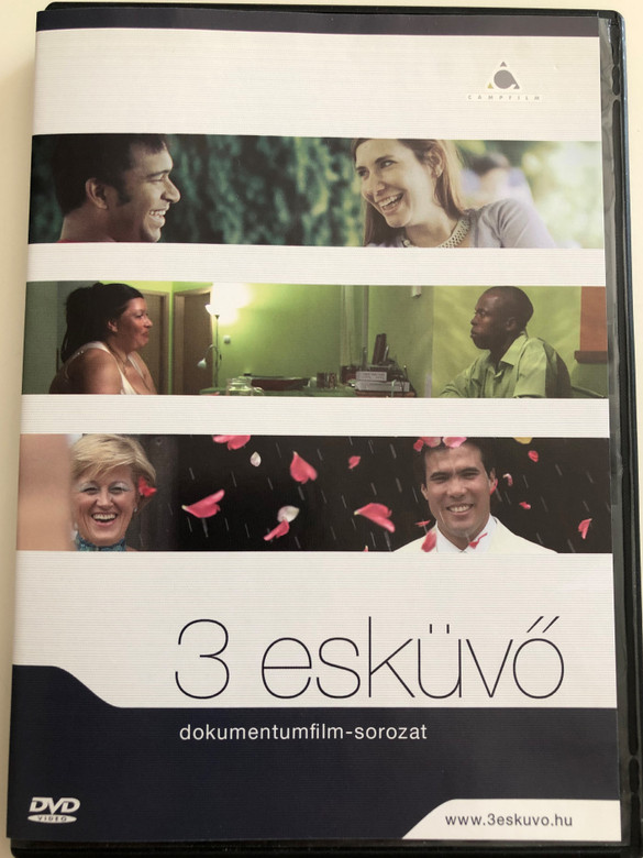 3 esküvő DVD 2009 3 weddings / Hungarian Documentary about mixed marriages (3eskuvoDVD)