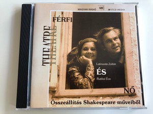 Férfi és Nő / Latinovits Zoltán és Ruttkai Éva / Összeállítás Shakespeare műveiből / Man & Woman / Selection of Shakespeare's works / Audio CD / VT 003 (VT003FerfiEsNo)