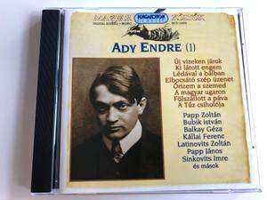 Ady Endre - Vol. 1 CD Magyar költők sorozat / HCD14272 Hungaroton / Hungarian Poets Series (5991811427221)