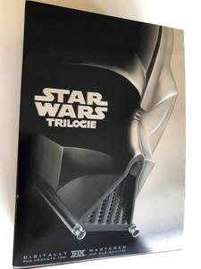 Star Wars Trilogie DVD Set 2004 / German / Episode IV A New Hope, V. The Empire Strikes Back, VI. Return of the Jedi / Eine Neue Hoffnung, Das Imperium Schlägt Zurück, Die Rückkehr der Jedi-Ritter / 4 DVD pack / With Extras Disc (4010232027863)