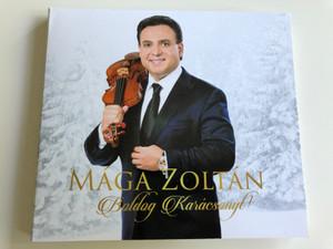 Mága Zoltán - Boldog karácsonyt! / Audio CD 2017 / Last Christmas, Csendes Éj, Ave Maria, Hanuka, Négy évszak - Tél (MágaZoltánBoldogKarácsonyt)
