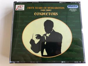 Fifty Years of Hungaroton (1951 - 2001) / Conductors / 4x Audio CD BOX 2001 / László Somogyi, Miklós Erdélyi, János Ferencsik, Gyula Németh, Iván Fischer, Nicholas McGegan, Domokos Héja / Ötven éve Hungaroton / HCD 32074-77 (5991813207425)