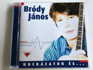 Bródy János - Kockázatok és mellékhatások / Audio CD 2001 / Featuring Koncz Zsuzsa, Tolcsvay László, Pál Veronika, Fenyő Katalin (5999508830361)