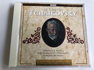"""Il Grande Tchaikovsky / Simfonia N. 6. """"Patetica"""", Suite dal Balletto """"Lo Schiaccianoci"""", Concerto per Violoino / Il Meglio della Musica Classica / Audio CD 1992 (027726880426)"""