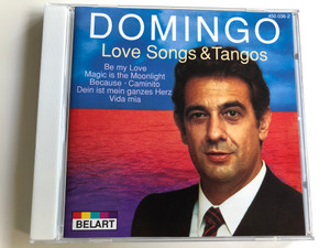 Placido Domingo - Love Songs & Tangos / Belart / Audio CD 1993 (028945003627)