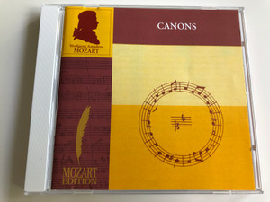 Canons - Wolfgang Amadeus Mozart / Brilliant Classics / 99738-6 / Chamber Choir of Europe, leader Nicol Matt / Audio CD 2002 (5028421973869)