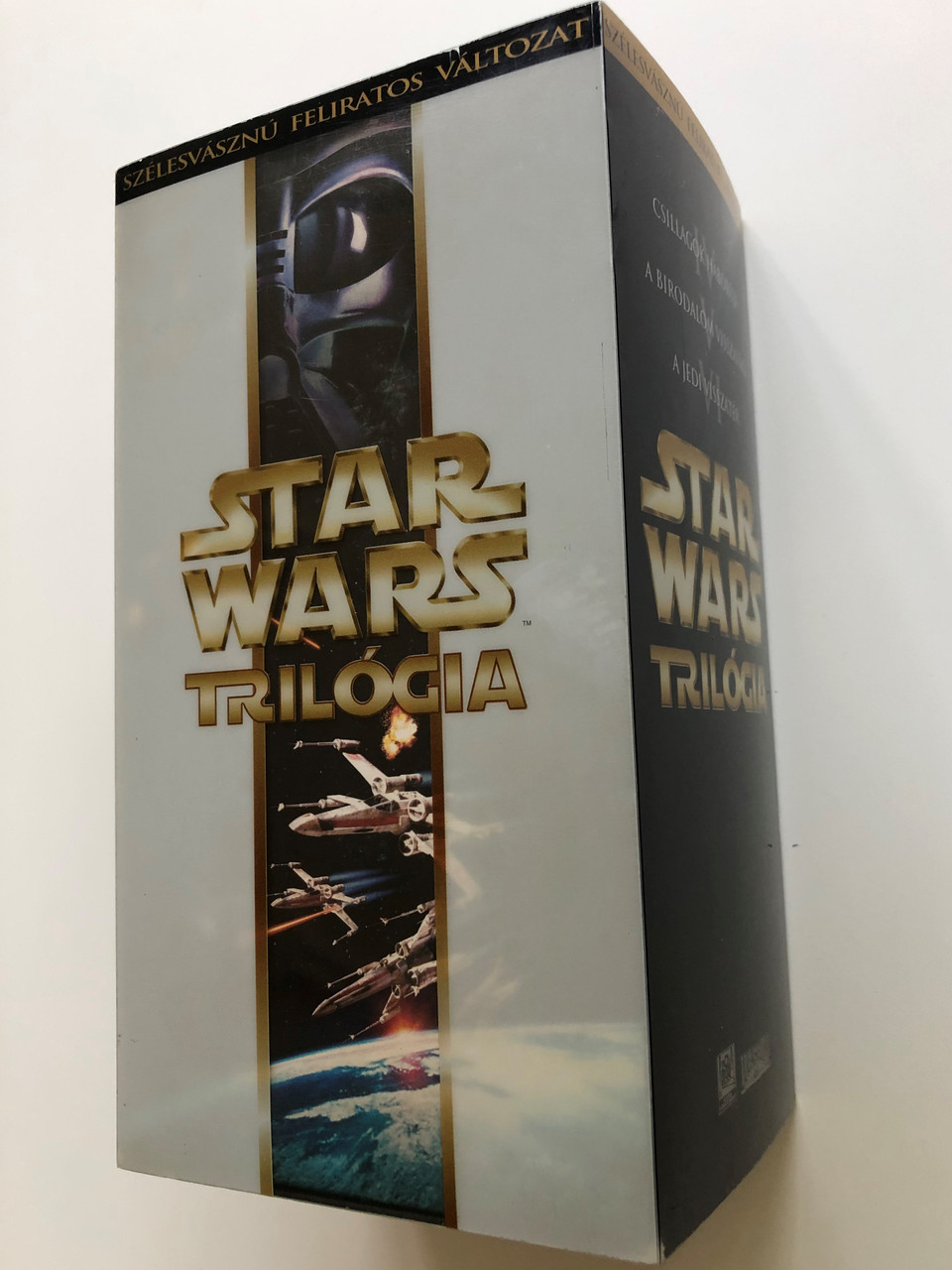 Star Wars Trilogy Vhs Set 2000 Episode Iv A New Hope V The Empire Strikes Back Vi Return Of The Jedi Star Wars Trilogia A Csillagok Haboruja A Birodalom Visszavag A