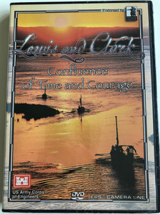 Lewis and Clark - Confluence of Time and Courage DVD 2004 / Directed by Gray Warriner / The Official Lewis and Clark Bicentennial Film of US Army - Corps of Engineers / NPV-513 (009347000643)