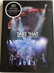Take That ‎– Beautiful World Live DVD 2008 / Filmed live at the O2 / Special 2 disc DVD / Plus Exclusive unseen Extras - The Journey - Exclusive on the Road film (602517579460)