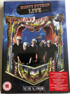 Monty Python Live (mostly) - One Down, Five to go DVD 2014 / Written be Graham Chapman, John Cleese, Terry Gilliam, Eric Idle, Terry Jones, Michael Palin (5034504104471)