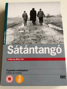 Sátántangó 3 disc DVD SET 1994 Satan's Tango / Directed by Béla Tarr / Starring: Mihály Víg, Putyi Horváth, László Lugossy (5021866329307)