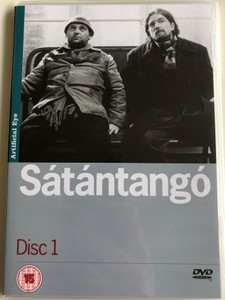 Sátántangó Disc 1. DVD 1994 Satan's Tango / Directed by Béla Tarr / Starring: Mihály Víg, Putyi Horváth, László Lugossy / Chapters 1-3 (SatantangoDVD1)