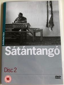 Sátántangó Disc 2. DVD 1994 Satan's Tango / Directed by Béla Tarr / Starring: Mihály Víg, Putyi Horváth, László Lugossy / Chapters 4-6 (SatantangoDVD2)