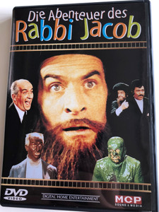 Les Aventures de Rabbi Jacob DVD 1973 Die Abenteuer des Rabbi Jacob / The Mad Adventures of Rabbi Jacob / Directed by Gérard Oury / Starring: Louis de Funès, Suzy Delair, Claude Giraud, Marcel Dalio, Claude Piéplu, Renzo Montagnani, Henri Guybet, Miou-Miou (9002986610069)