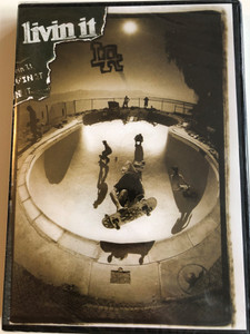 Livin it LA DVD 2006 / Directed by Stephen Baldwin / Starring: Christian Hosoi, Donny Barley, Richard Mulder, Josh Kasper, Lance Mountain, Brian Sumner, Elijah Moore / Skateboarding film (9780975553817)