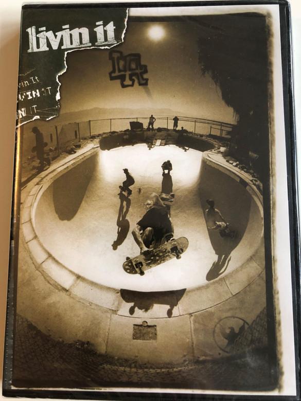 Livin it LA DVD 2006 / Directed by Stephen Baldwin / Starring: Christian Hosoi, Donny Barley, Richard Mulder, Josh Kasper, Lance Mountain, Brian Sumner, Elijah Moore / Skateboarding film (9780975553817)
