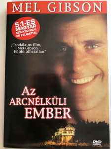 The Man without a face DVD 1993 Az arc nélküli ember / Directed by Mel Gibson / Starring: Mel Gibson, Nick Stahl, Margaret Whitton, Fay Masterson, Gaby Hoffman (5999544560970)