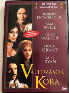 Restoration DVD 1995 Változások kora / Directed by Michael Hoffman / Starring: Robert Downey Jr., Sam Neill, Meg Ryan, David Thewlis, Polly Walker, Ian McKellen, Hugh Grant (5999551920071)