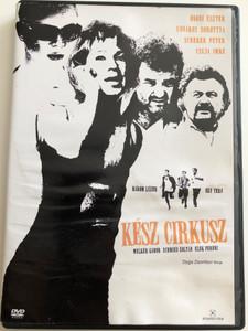 Kész Cirkusz DVD 2005 Total Circus / Directed by Dyga Zsombor / Starring: Welker Gábor, Schmied Zoltán, Elek Ferenc, Udvaros Dorottya, Scherer Péter, Ónodi Eszter, Csuja Imre / Hungarian comedy film (5999544242791)