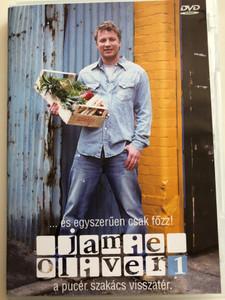 Oliver's Twist DVD 2002 Jamie Oliver vol. 1 / A pucér szakács visszatér / Főzzünk megint egyszerűen! / Directed by Brian Klein / 3 episodes / Cooking with Jamie Oliver (5998329507926)