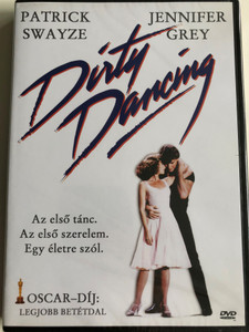 Dirty Dancing DVD 1987 Piszkos Tánc / Directed by Emile Ardolino / Starring: Patrick Swayze, Jennifer Grey, Cynthia Rhodes, Jack Weston / Academy Award for Best Original Song (5999881067958)