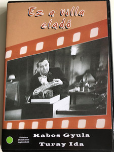 Ez a villa eladó DVD 1935 Villa for Sale / Directed by Czifra Géza / Starring: Kabos Gyula, Turay Ida, Verebes Ernő, Berky Lili, Bilicsi Tivadar (5996051280407)