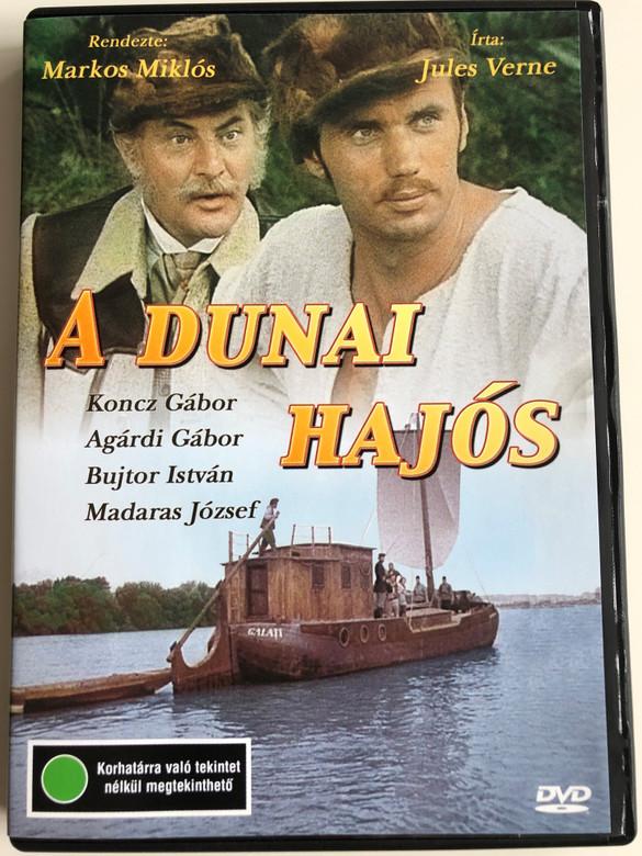 A Dunai Hajós DVD 1977 / Directed by Markos Miklós / Written by Jules Verne / Starring: Koncz Gábor, Agárdi Gábor, Bujtor István, Madaras József, Kállai Ferenc, Latinovits Zoltán, Menszátor Magdolna (5996357330264)