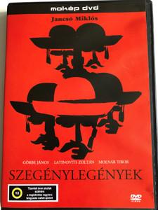 Szegénylegények DVD 1966 The Round-Up / Directed by Jancsó Miklós / Starring: János Görbe, Zoltán Latinovits, Tibor Molnár (5996357312505)
