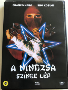 Enter the Ninja DVD 1981 A nindzsa színre lép / Directed by Menahem Golan / Starring: Franco Nero, Susan George, Sho Kosugi, Alex Courtney, Will Hare, Zachi Noy, Constantin de Goguel, Dale Ishimoto, Christopher George (5999882942759)