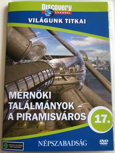 Extreme Engineering - City In A Pyramid DVD 2007 Mérnöki találmányok - A Piramisváros / Discovery Channel documentary / Világunk titkai sorozat 17. (5998282108611)