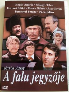 A falu jegyzője DVD 1986 / Directed by Zsurzs Éva / Written by Eötvös József / Starring: Kozák András, Molnár Piroska, Orosz Helga, Szilágyi Tibor, Hámori Ildikó / Hungarian film (5990502068347)