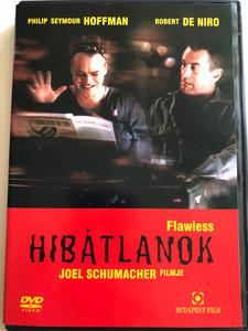 Flawless DVD 1999 Hibátlanok / Directed by Joel Schumacher / Starring: Philip Seymour Hoffman, Robert de Niro, Barry Miller, Chris Bauer, Wilson Jermaine Heredia, Daphne Rubin-Vega (5999544250635)