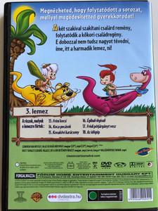 The Flintstones Season 5 DVD 1966 Frédi és Béni A két kőkorszaki szaki / Season 5 / Ötödik évad / Episodes 13-18 / Disc 3 / Hanna-Barbera / Animated Classic (5999048900555)