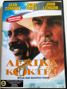 A good man in Africa DVD 1994 Afrika Koktél / Directed by Bruce Beresford / Starring: Colin Friels, Joanne Whalley-Kilmer, Sean Connery, John Lithgow, Louis Gossett, Jr., Diana Rigg (5999544560536)
