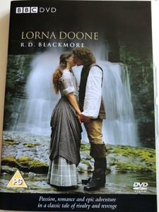 R. D. Blackmore - Lorna Doone DVD 2000 / BBC / Directed by Mike Barker / Starring: Anthony Calf, Rebecca Callard, MArtin Clunes, Richard Coyle, Barbara Flynn (5014503215323)