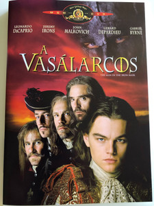 The Man in the Iron mask DVD 1998 A Vasálarcos / Directed by Randall Wallace / Starring: Leonardo DiCaprio, Jeremy Irons, John Malkovich, Gerard Depardieu (5996255716252)