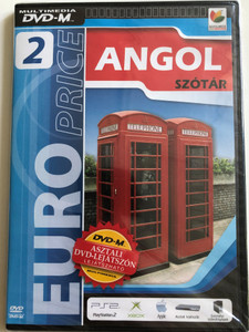 Euro Price 2 Angol szótár / English Dictionary / DVD-M 2006 / Can be played on DVD players, PS2, Xbox, Mac and PC (5999538764520)