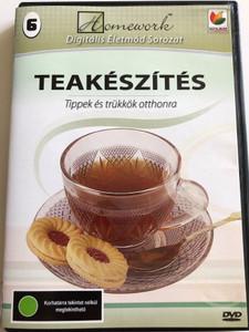 Teakészítés - Tippek és trükkök otthonra DVD 2006 / Making Tea - Tips & Tricks for home / Digitalmedia Hungary / Desert pictures (5999538764940)