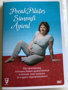 Pocak Pilates Simonfi Ágival DVD 2011 / Pilates for pregnant women / Fitt várandóság / kismama Pilates gyakorlatokkal / a könnyű, szép szülésére és a gyors regenerálódásért! (PocakPilatesDVD)