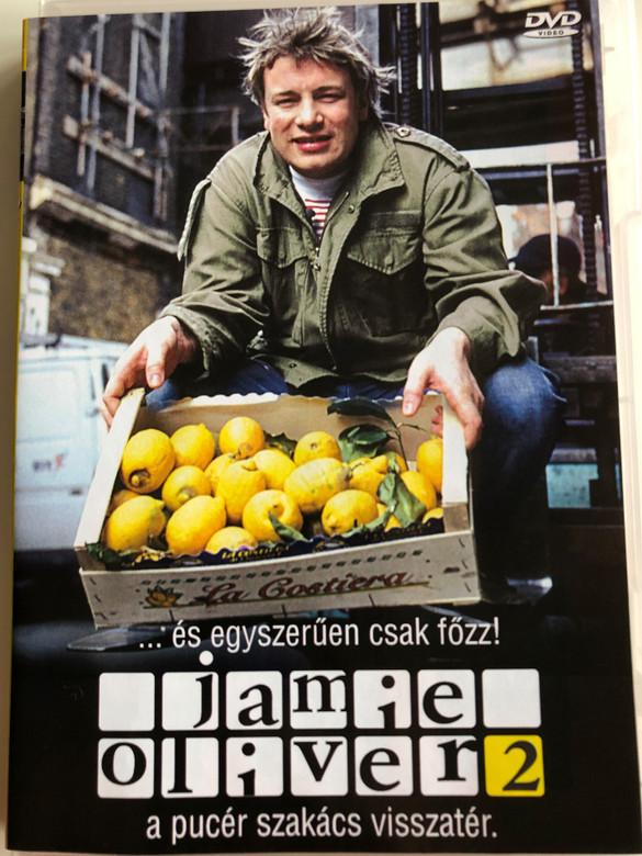Oliver's Twist DVD 2002 Jamie Oliver vol. 2 / A pucér szakács visszatér / és egyszerűen csak főzz / Directed by Brian Klein / 3 episodes / Cooking with Jamie Oliver (5998329507933)