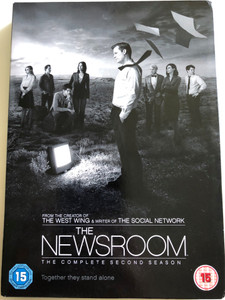 The Newsroom DVD 2014 / The Complete Second season / Created by Aaron Sorkin / A HBO original Series / Together the stand alone (5051892165402)