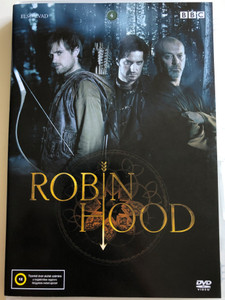Robin Hood TV Series DVD 2006 Robin Hood TV Sorozat / Season 1 - Első Évad / Created by Dominic Minghella and Foz Allan / BBC / 13. A Hasonmás (5999545585767)