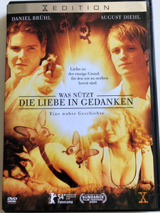 Was nützt die Liebe in Gedanken DVD 2004 Love in thoughts / Directed by: Achim Von Borries / Starring: Daniel Brühl, August Dieh,l Anna Maria Mühe, Thure Lindhardt (7321921961830)