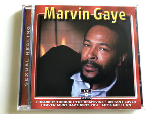 Marvin Gaye - Sexual Healing / I Heard It through The Grapevine, Distant Lover, Heaven Must have Sent you, Let's get it on / Live Recording Audio CD / LT 5013 (8712273050133)