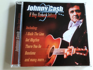 Johnny Cash - A boy named Johnny / Including: I Walk the Line, Get Rhythm, There You GO, Bandana and many more... / Audio CD 2001 / APWCD 1164 (5029248121129)